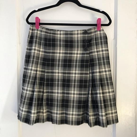 LOFT Dresses & Skirts - Ann Taylor LOFT Plaid Wrap Skirt